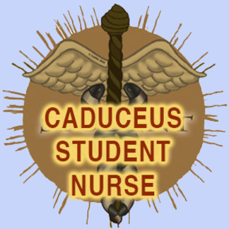 Student Nurse Caduceus